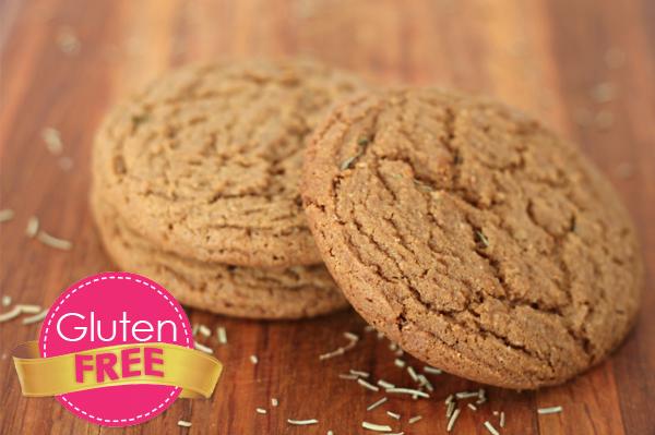 Gluten free rosemarry cookies