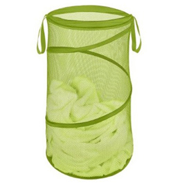 Seen here: Collapsible Laundry Hamper (Target, $11.99)