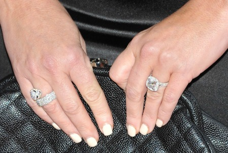 Heather Locklear engagement ring