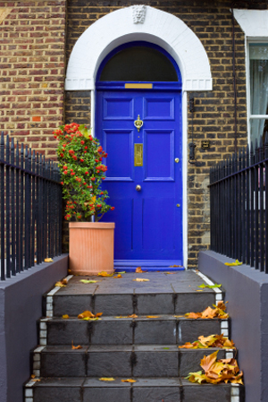 How to... paint an accent door