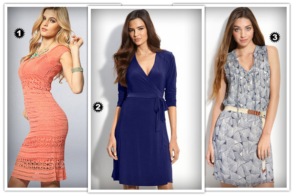 Hourglass casual dresses