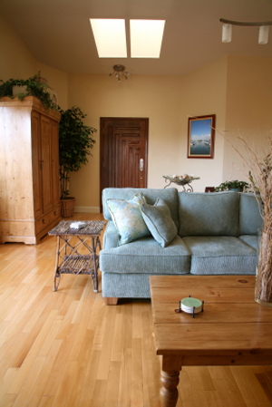 How To Arrange A Narrow Family Room