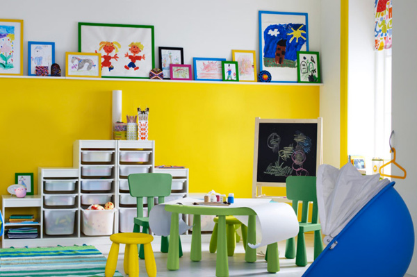 Ikea playroom