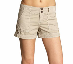 Seen here: Shorts
