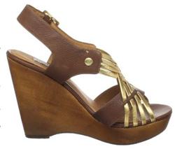 Seen here: Wedge heels
