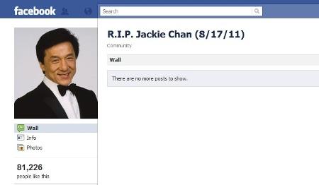 Jackie Chan alive and kickin'