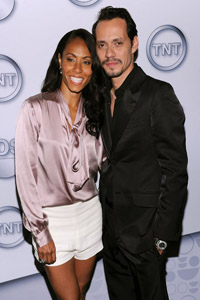Is Jada Pinkett-Smith having an affair with Marc Anthony?