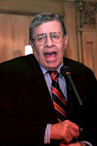 Jerry Lewis hates American Idol, The Biggest Loser