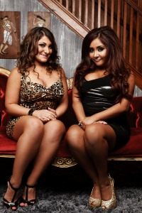Deena and Snooki from Jersey Shore