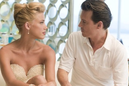 Johnny Depp and Amber Heard in The Rum Diary