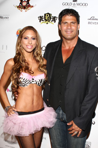 Jose Canseco and Leila Shennib