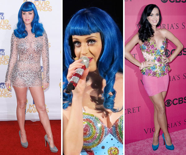 Pop princess Katy Perry and her colorful style