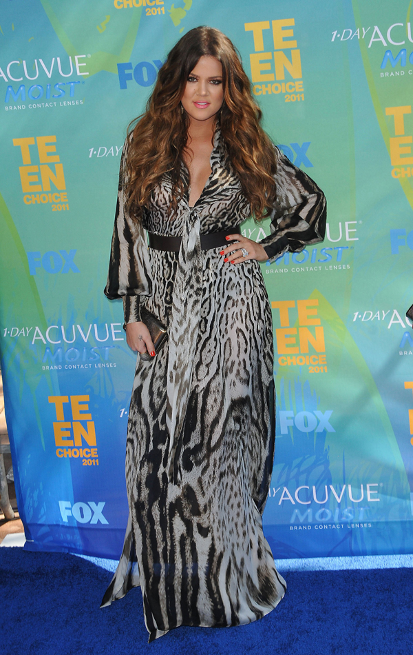 Khloe Kardashian at the TCA
