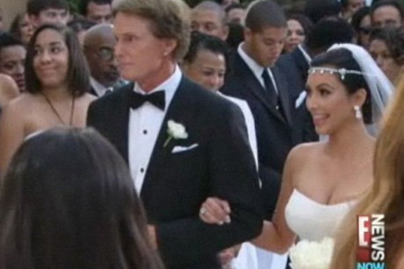 Kim Kardashian wedding and Bruce Jenner