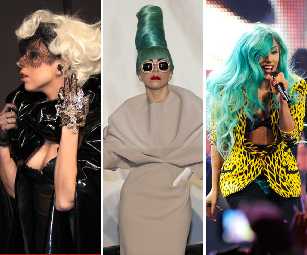 The crazy fashion of Lady Gaga