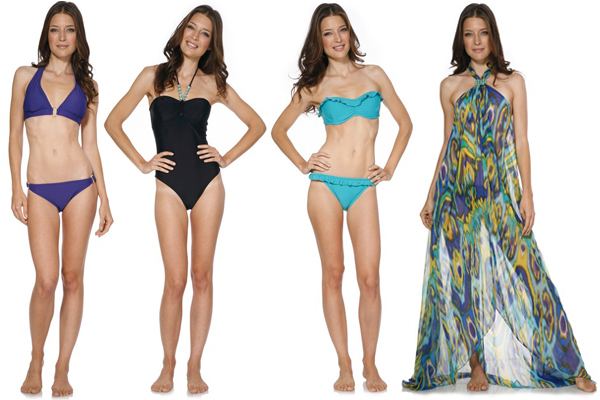 Summer pool party bathing suit ideas