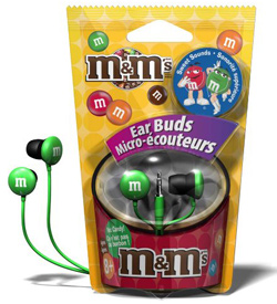 Seen here: M&M Headphones (Urban Outfittes, $10)