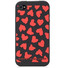 Marc Jacobs Wild Hearts iPhone 4 Cover