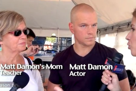 Matt Damon schools a teacher