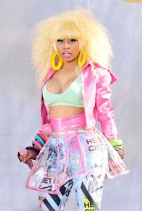 Nicki Minaj bares all