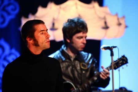 Noel Gallagher Liam Gallagher Oasis