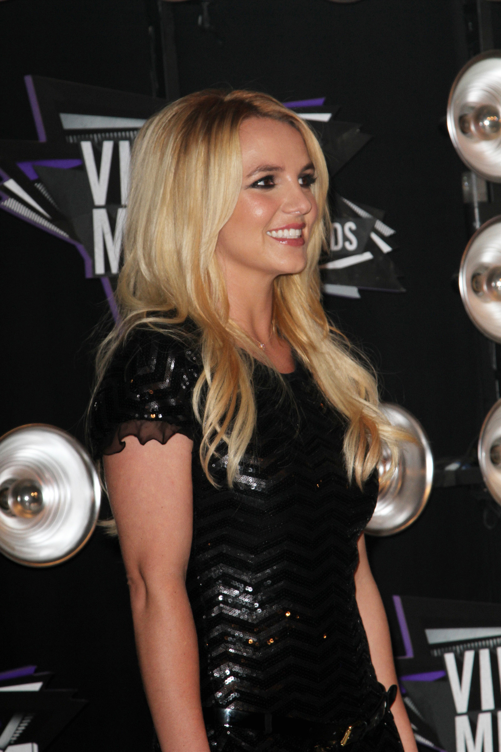 Britney Spears VMA Hairstyle