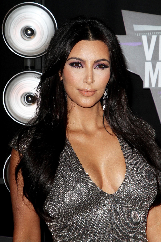Kim Kardashian VMA Hairstyle