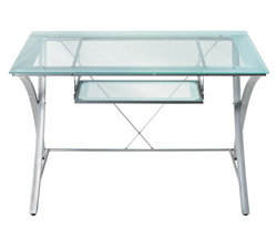 Zentra Collection computer desk (OfficeMax, $129.99)