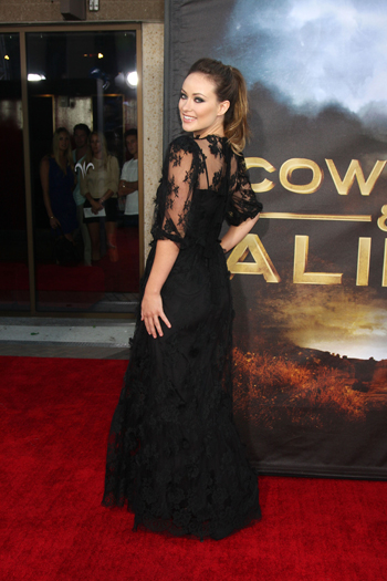 Olivia Wilde - Gothic Inspired Fashion