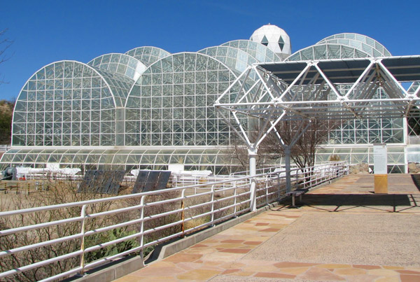 Check out the Biosphere
