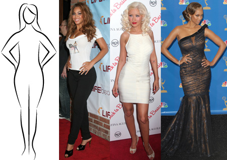 Pear-Shaped Body Celebrities