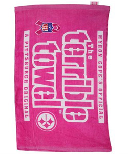 NFL Pittsburgh Steelers Breast Cancer Awareness Set of 2 Towels