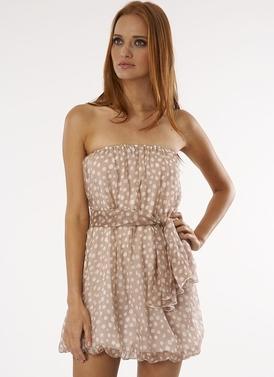 Lauren Conrad polka dot dress
