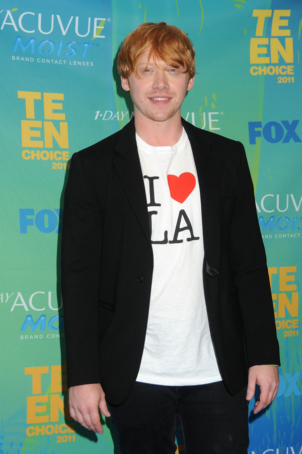 Rupert Grint at the TCA