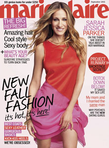 Sarah Jessica Parker in Marie Claire