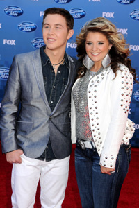 Scotty McCreery and Lauren Alaina