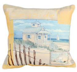 Coastal Treasures Oceanside Pillows