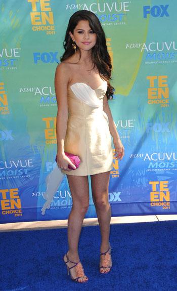 Selena Gomez at the Teen Choice Awards
