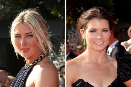 Maria Sharapova and Danica Patrick the highest paid female athletes