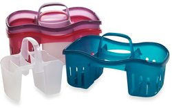 Seen here: Shower Day/Night Caddy (Bed Bath & Beyond, $7.99)