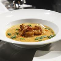 Coconut Curry Shrimp Soup