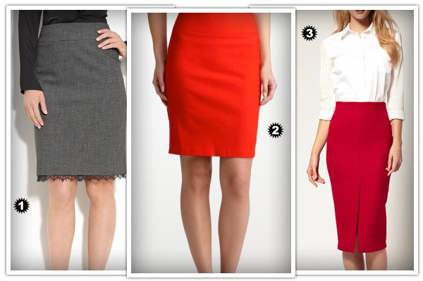 Skirts for hourglass