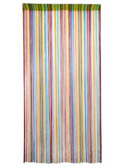 Seen here: Color Burst String Door Curtain (HippieShop, $29.95)
