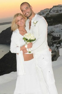 Tara Reid wedding