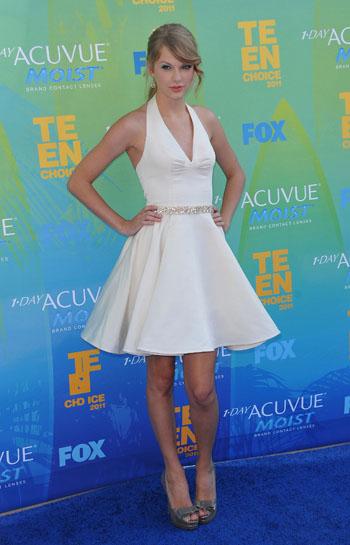 Taylor Swift at the Teen Choice Awards