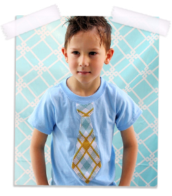 Back to school tie t-shirt