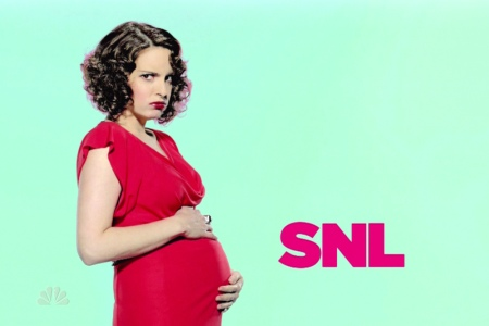 Tina Fey pregnant on SNL