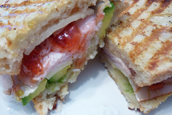 Date night dishes... Panini picnic