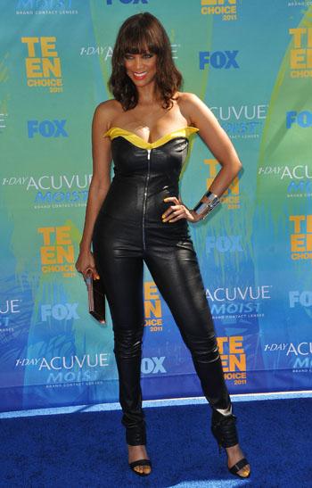 Tyra Banks at the Teen Choice Awards