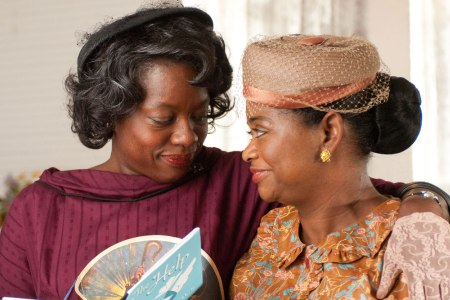 Viola Davis and Octavia Tate and go back to an ugly time in The Help